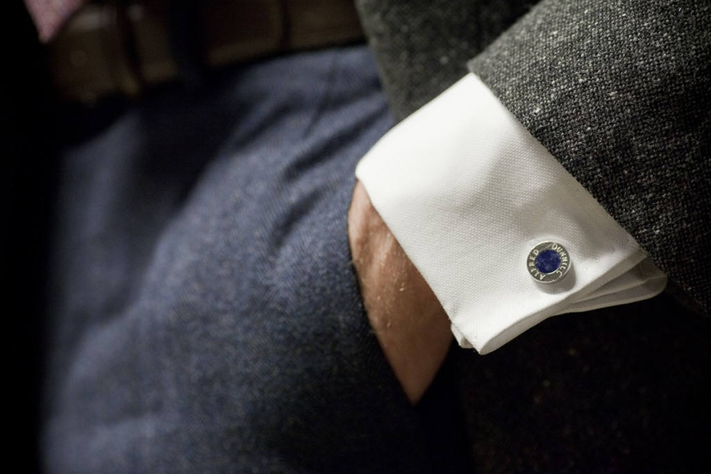 The gallery for how to wear cufflinks on a regular shirt for Can you wear cufflinks on a regular shirt